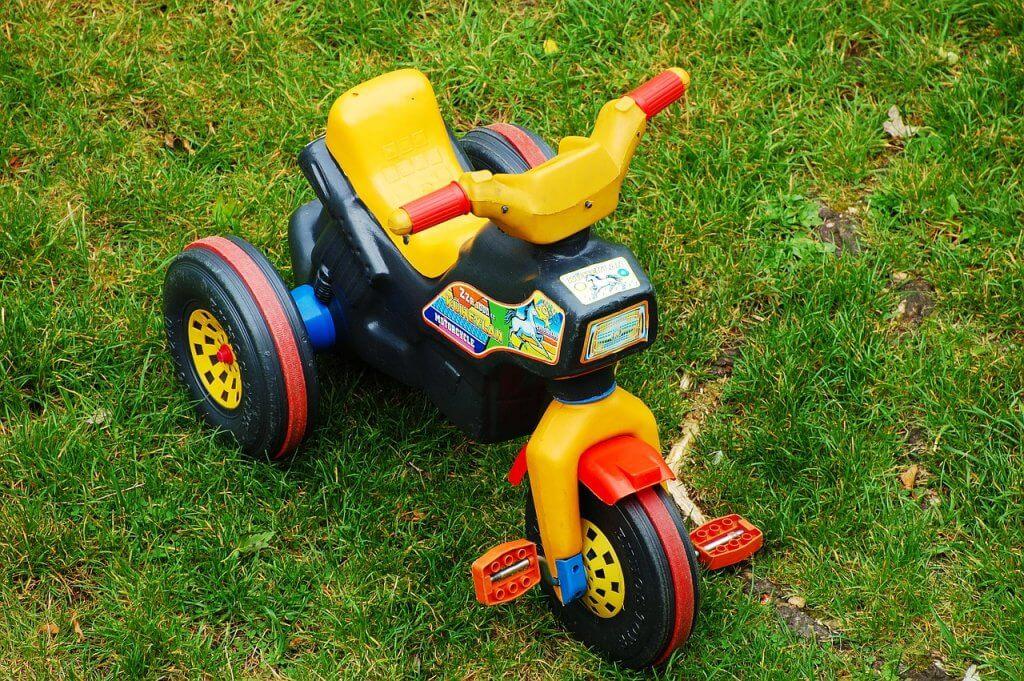 Jeździk w kształcie motocykla dla starszych dzieci